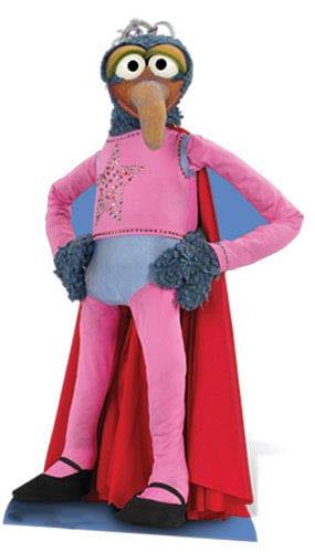 The Muppets Gonzo Lifesize Cardboard Cutout - 139cm Product Gallery Image