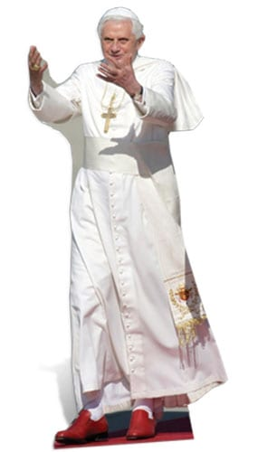 The Pope Lifesize Cardboard Cutout - 180cm Product Gallery Image