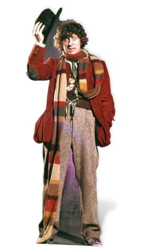 Tom Baker Dr Who The 4th Doctor Lifesize Cardboard Cutout - 181cm