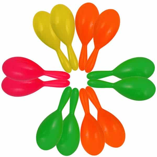 Toy Noise Making Maracas One Pack Of 12 Partyrama Co Uk