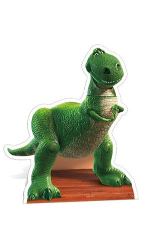 Toy Story Rex Lifesize Cardboard Cutout - 100cm Product Gallery Image