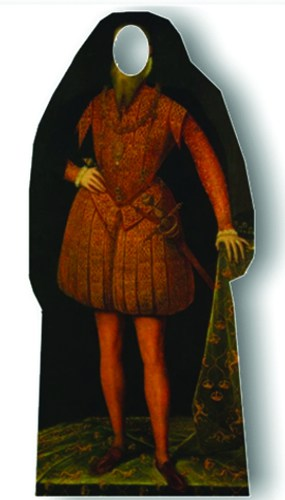 Tudor Man Stand In Lifesize Cardboard Cutout Partyramacouk