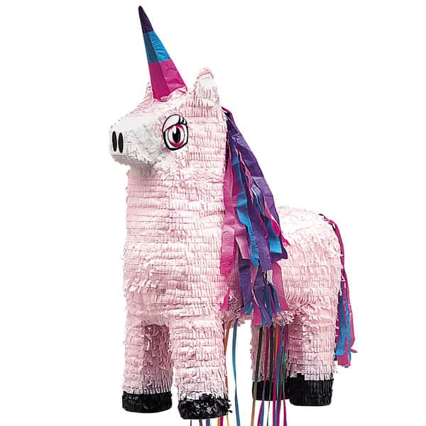 Unicorn Pull String Pinata Product Image