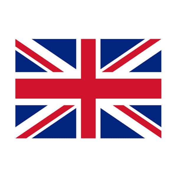 Union Jack Polyester Flag With Grommets 92cm