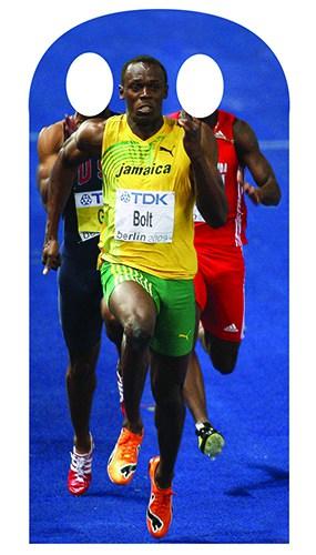 Usain Bolt Stand In Cutout - 179cm
