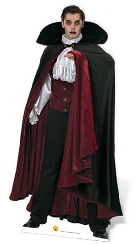 Vampire Lifesize Cardboard Cutout 186cm - PRE-ORDER Product Gallery Image