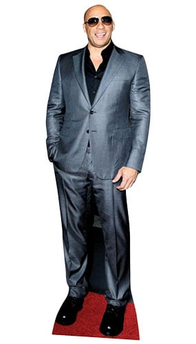 Vin Diesel Lifesize Cardboard Cutout - 182cm Product Gallery Image