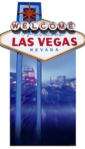 Welcome to Fabulous Las Vegas' Lifesize Cardboard Cutout - 183cm Product Gallery Image