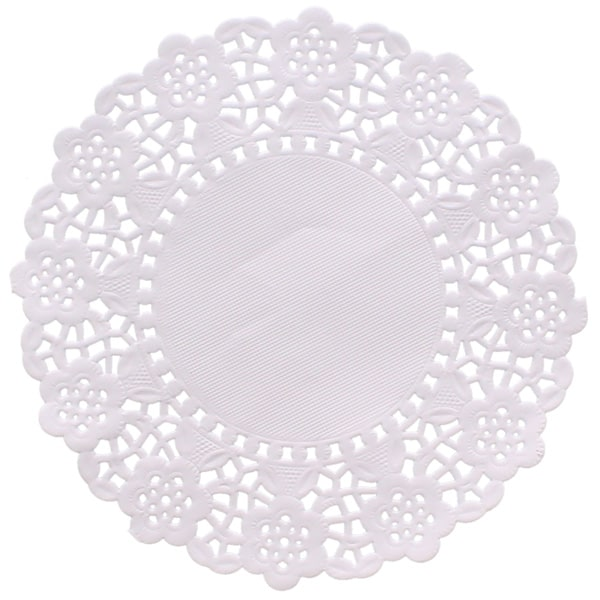 White 5 5 Inch Paper Doilies Pack Of 250 Partyrama Co Uk