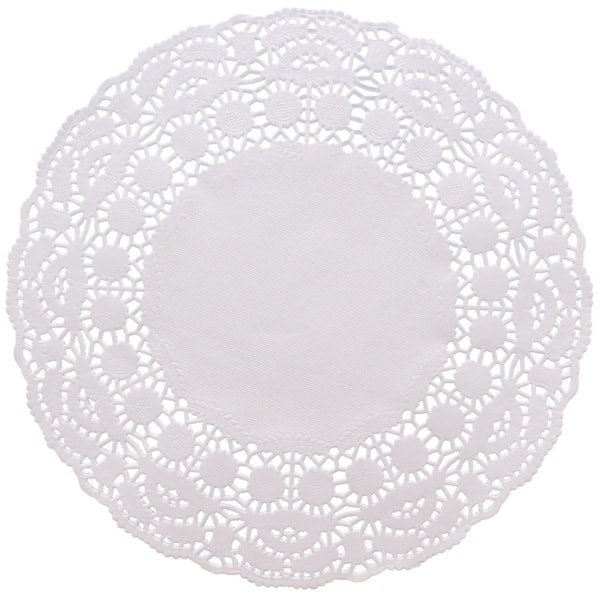 White Round Paper Doilies - 8.5 Inches / 22cm - Pack of 250 Product Image