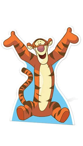 Winnie the Pooh Tigger Lifesize Cardboard Cutout - 70cm Product Gallery Image
