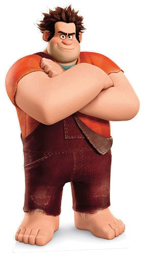 Wreck it Ralph Lifesize Cardboard Cutout - 178cm Product Image