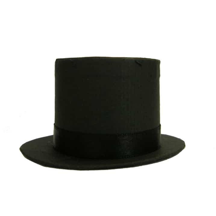 Black Top Hat Box Wedding Favour