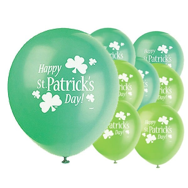 St-Patricks-Day-Emerald-Lime-Green-Latex-Balloons
