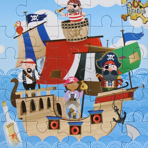 Assorted Pirate Jigsaw Puzzle Gallery Image
