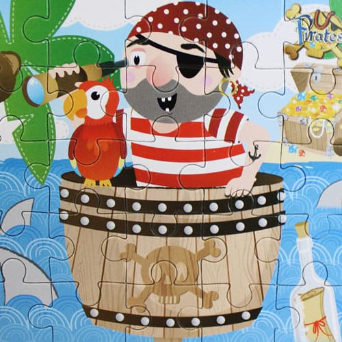 Assorted Pirate Jigsaw Puzzle