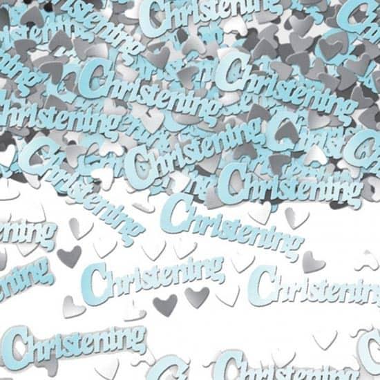 Blue Christening Table Confetti – 14 Grams