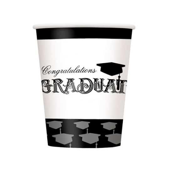 Congratulations Graduate Paper Cup - 9oz / 266ml