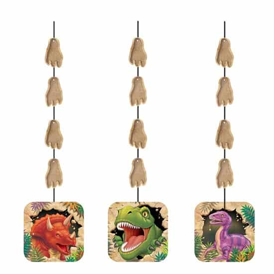 Dino Blast String Decoration - 36 Inches / 92cm - Pack of 3