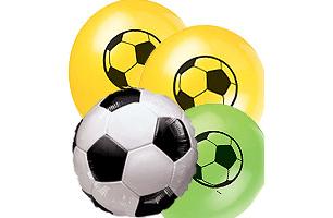 Football Latex Foil Balloons