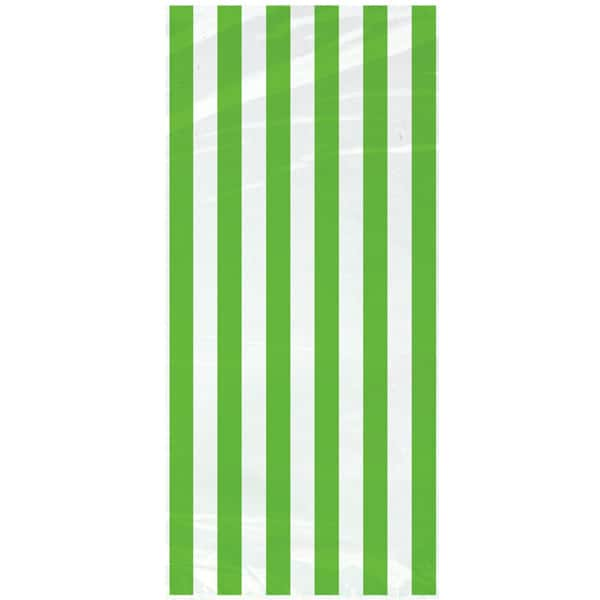 green-and-white-stripes-theme-20-plastic-gift-bags-with-twist-ties-product-image