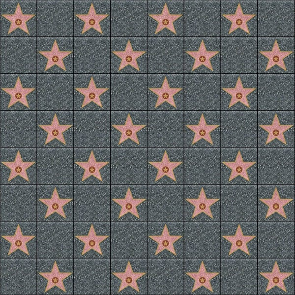 Hollywood Stars Backdrop Scene Setter Room Roll Product Image