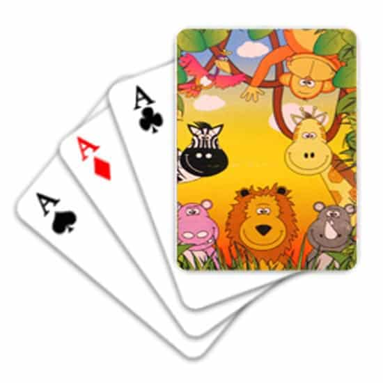 Jungle Mini Playing Cards Product Image