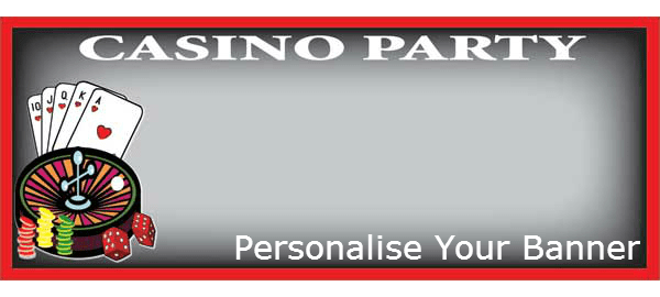 Casino Personalised Banners