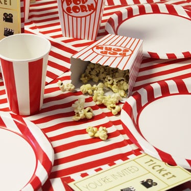 Popcorn Party Theme