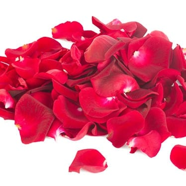 Fabric Rose Petal Confetti