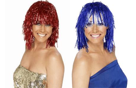 Tinsel Wig Ladies