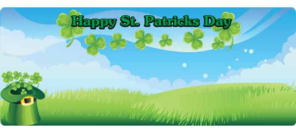 St Patricks Day Personalised