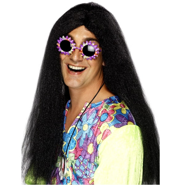 Black Hippy Mens Long Wig