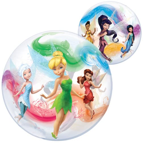 Disney Fairies Bubble Helium Qualatex Balloon 56cm / 22 in