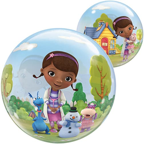 Doc McStuffins Bubble Qualatex Balloon - 22 Inches / 56cm Product Image