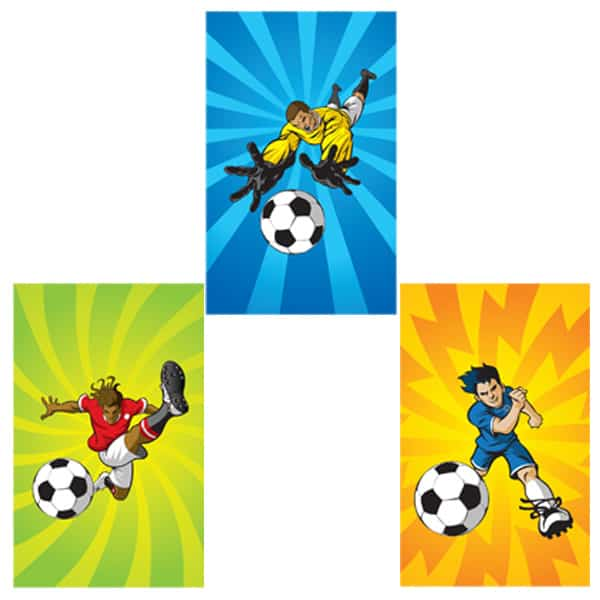 Assorted Mini Football Notebook