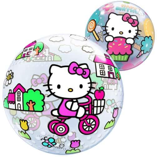 Hello Kitty Bubble Qualatex Balloon - 22 Inches / 56cm
