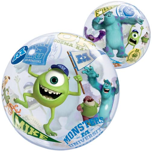 Monsters University Bubble Qualatex Balloon - 22 Inches / 56cm Product Image