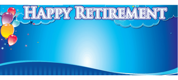 Personalised Retirement Banners Partyrama Co Uk