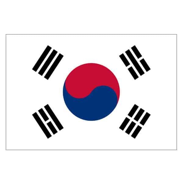 South Korea Flag - 5 x 3 Ft
