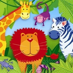 Jungle Animals Party Supplies Partyrama Co Uk