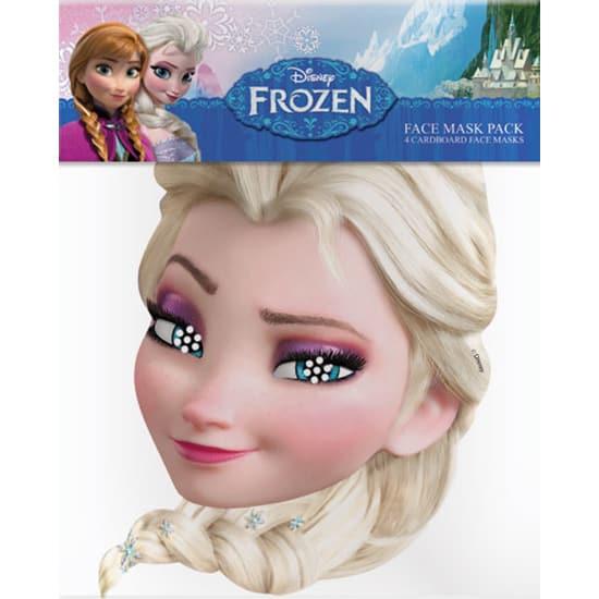 Disney Frozen Elsa Cardboard Face Mask