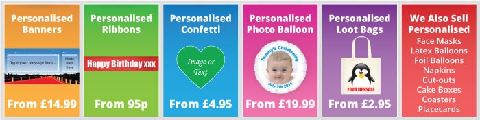 All Personalised Banner