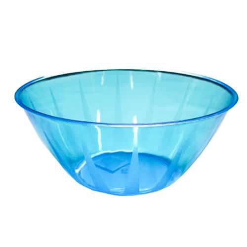 Neon Blue Large Serving Bowl - 160oz