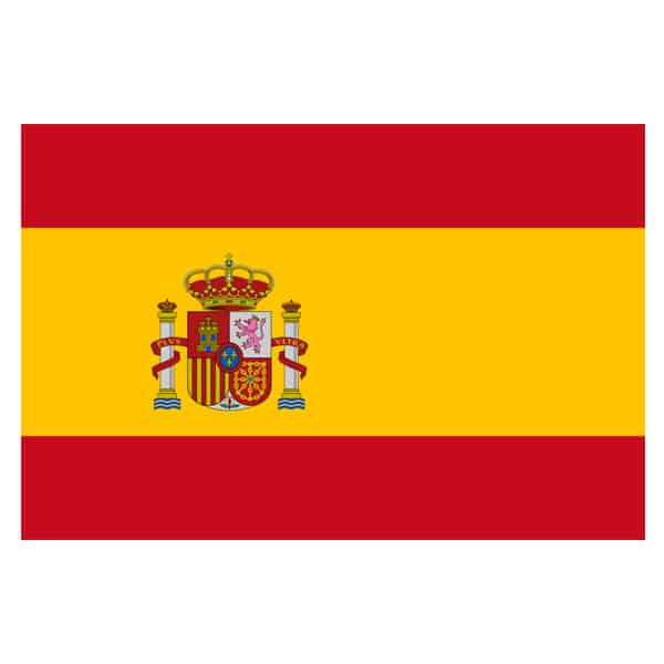 Spanish Flag With Crest - 5 x 3 Ft