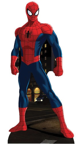 Spiderman Lifesize Cardboard Cutout - 173cm Product Gallery Image