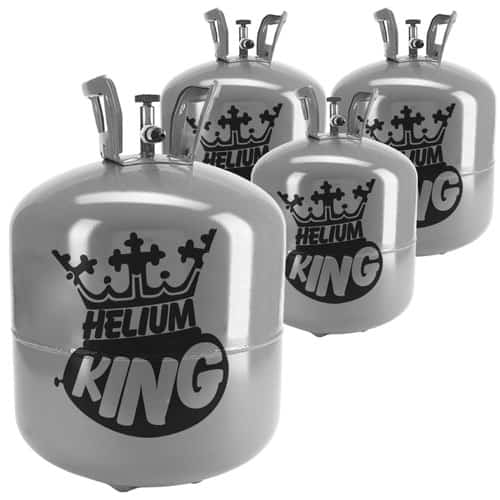 Large Helium Canister Four Pack - Fills Up To 200 x 9