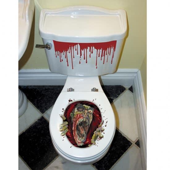 Halloween Zombie Toilet Seat Grabber