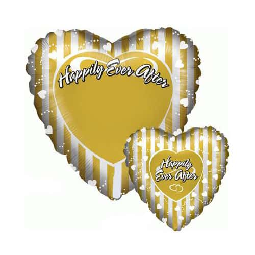 Happily Ever After Photo Balloon Foil Helium Balloon 53cm / 21Inch