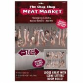 The Chop Shop Meat Market Hanging Limbs Scene Setter Add-Ons